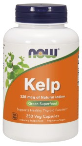 NOW Foods Kelp Jod 325mcg 250kaps