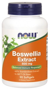 NOW Foods Boswellia Serrata Ekstrakt 500mg + Kurkuma