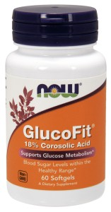 NOW Foods GlucoFit® – 60 kaps