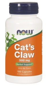 NOW Foods Cats - Cat's Claw Koci Pazur 100kaps