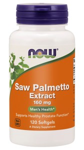 NOW Foods Saw Palmetto – ekstrakt 160 mg – 120 kaps Palma