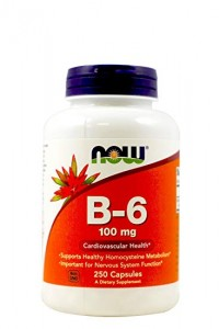 NOW Foods B-6 100 mg – witamina B6 – 250 kaps