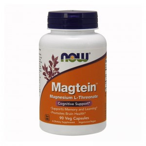 NOW Foods Magtein™ – 90 kaps Magnez L-treonian