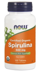 NOW Foods  Spirulina 500 mg – 100tab