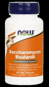 NOW Foods Saccharomyces Boulardii 60 kaps
