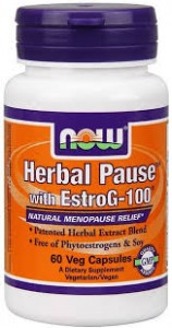 NOW Foods Herbal Pause™ with EstroG-100® – 60 kaps