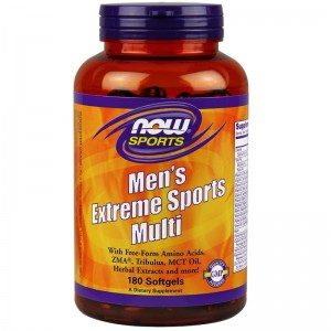 NOW Foods Men's Extreme Sports Multi – 180 kaps