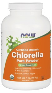 NOW Foods Chlorella Proszek, Organic – 113 g
