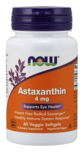 NOW Foods Astaksantyna 4mg