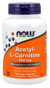 NOW Foods ALC 500mg Acetyl-L Karnityna