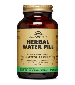 SOLGAR HERBAL WATER PILL 100 KAPS