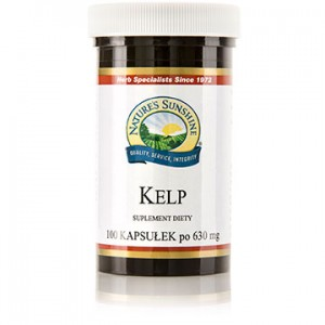Nature`s Sunshine Kelp (100 kaps.) Jod