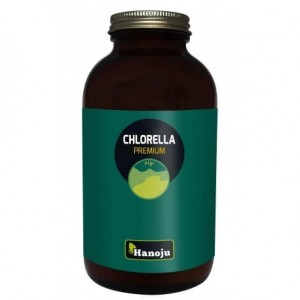 Hanoju Chlorella Premium 400mg, 800 tabletek