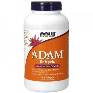 NOW Foods ADAM Multi-Vitamin for Men 180 kaps żel.