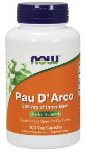 NOW Foods PAU DARCO 500 MG (100 KAPSUŁEK)