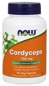 NOW Foods Cordyceps 750mg