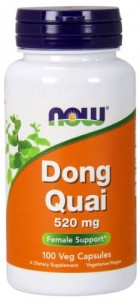 NOW Foods DONG QUAI 520 MG 100kaps