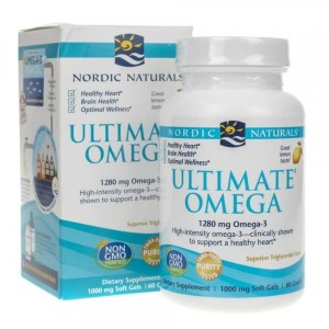 Nordic Naturals Ultimate Omega smak cytrynowy - 60 kap