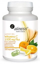 ALINESS Witamina C 1000 mg Plus 100kaps